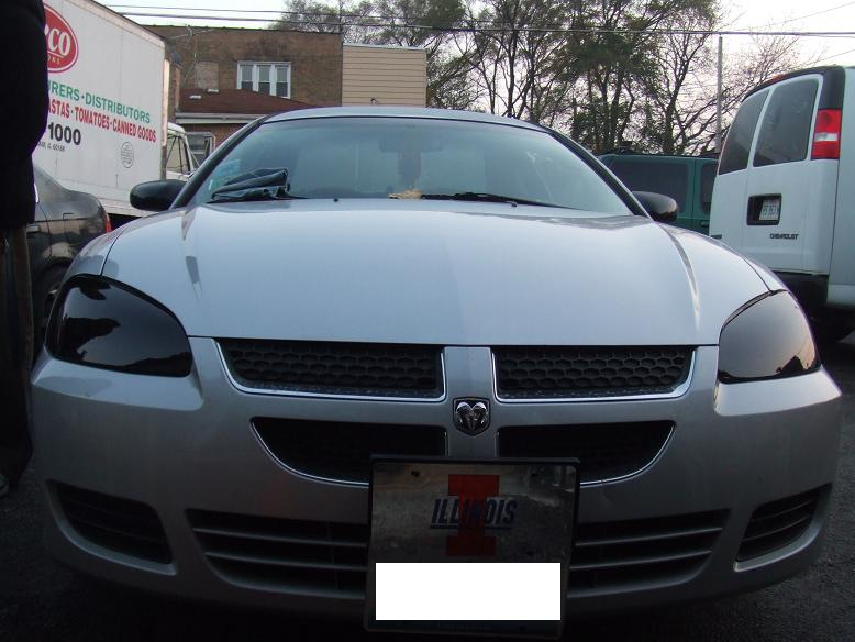 Dodge Stratus Headlight Tint