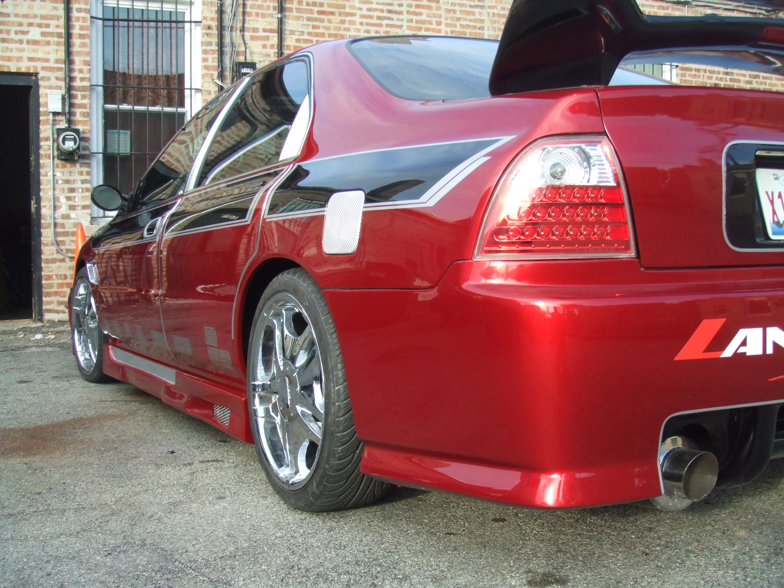 Cheap Auto Repair >> Honda Accord Bodykit